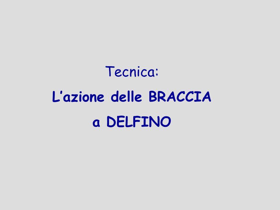 Tecnica: La coordinazione BRACCIA-GAMBE-RESPIRAZIONE a DELFINO