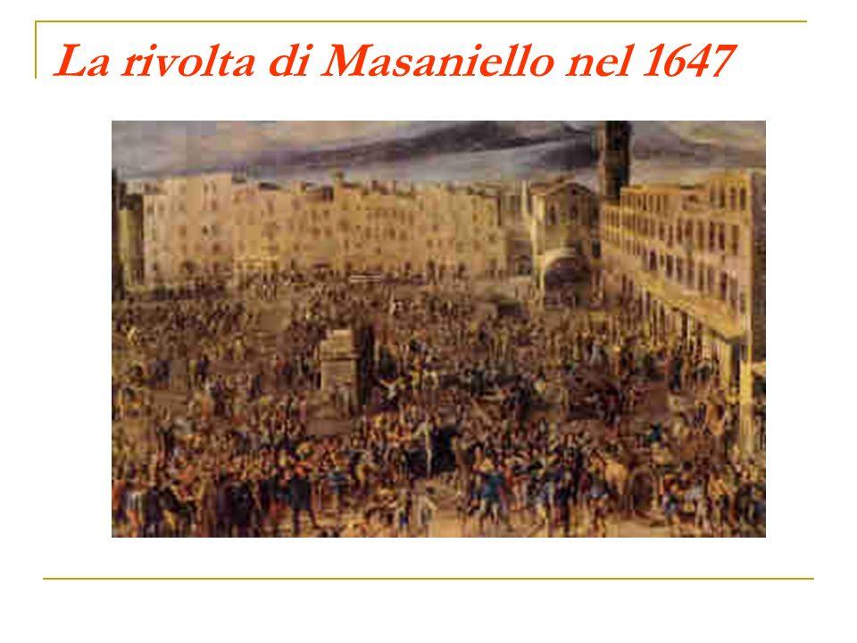 La rivolta di Masaniello nel 1647
