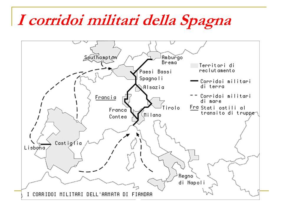 I corridoi militari della Spagna