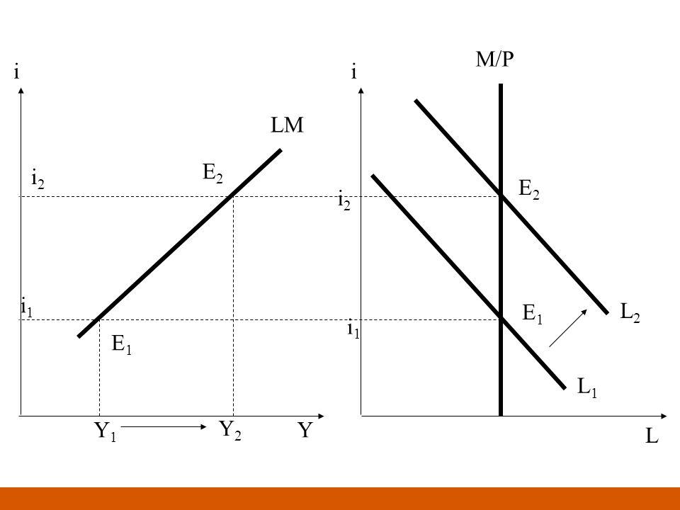 M/P L i1i1 i2i2 L1L1 L2L2 LM E1E1 E2E2 E1E1 E2E2 i1i1 i2i2 ii YY1Y1 Y2Y2