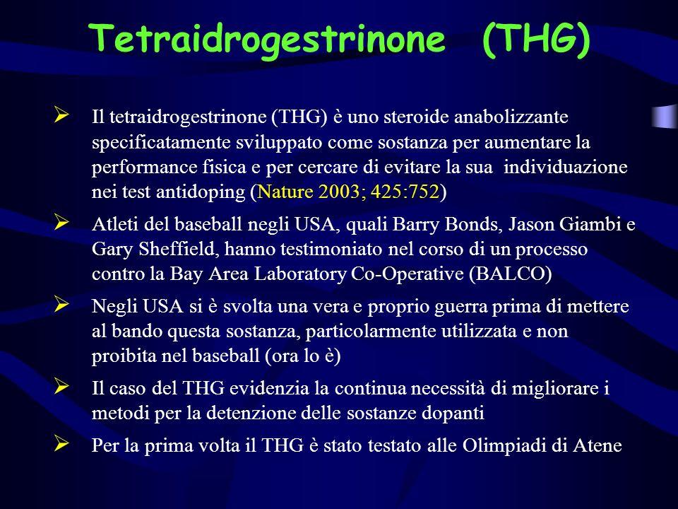 Efficacia del tetraidrogestrinone (Labrie F et al. J Endocrinol 2005; 184:427)