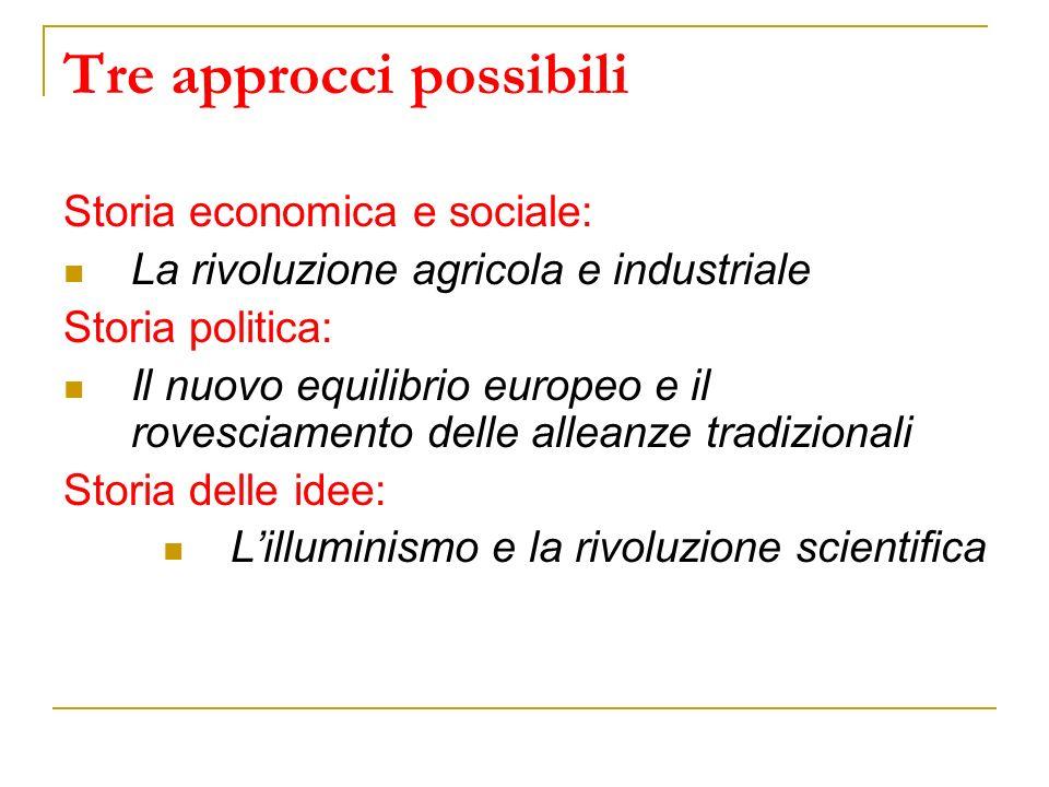 Quattro affermazioni controcorrente (Franco Venturi, Utopia e riforma nellIlluminismo, 1970) 1.