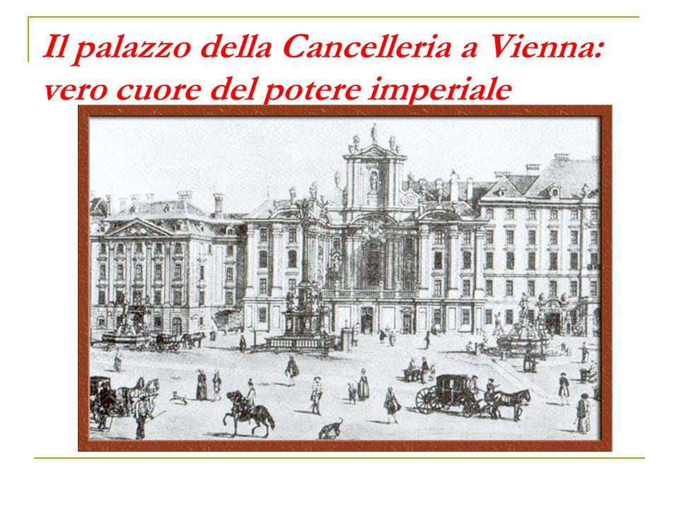 Il palazzo della Cancelleria a Vienna: vero cuore del potere imperiale