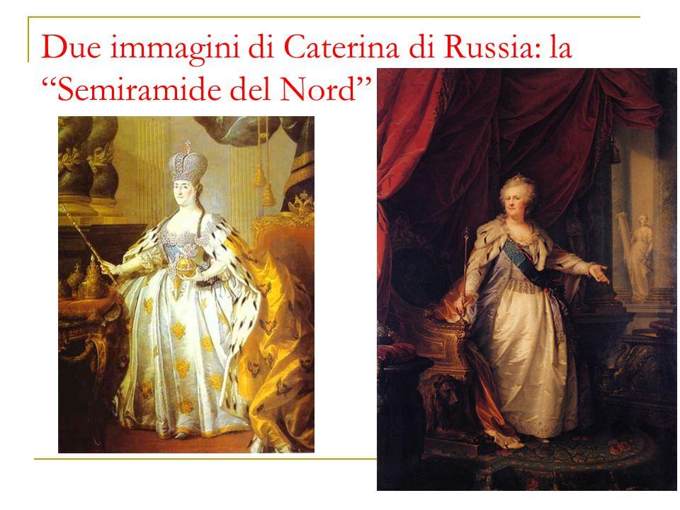 Due immagini di Caterina di Russia: la Semiramide del Nord