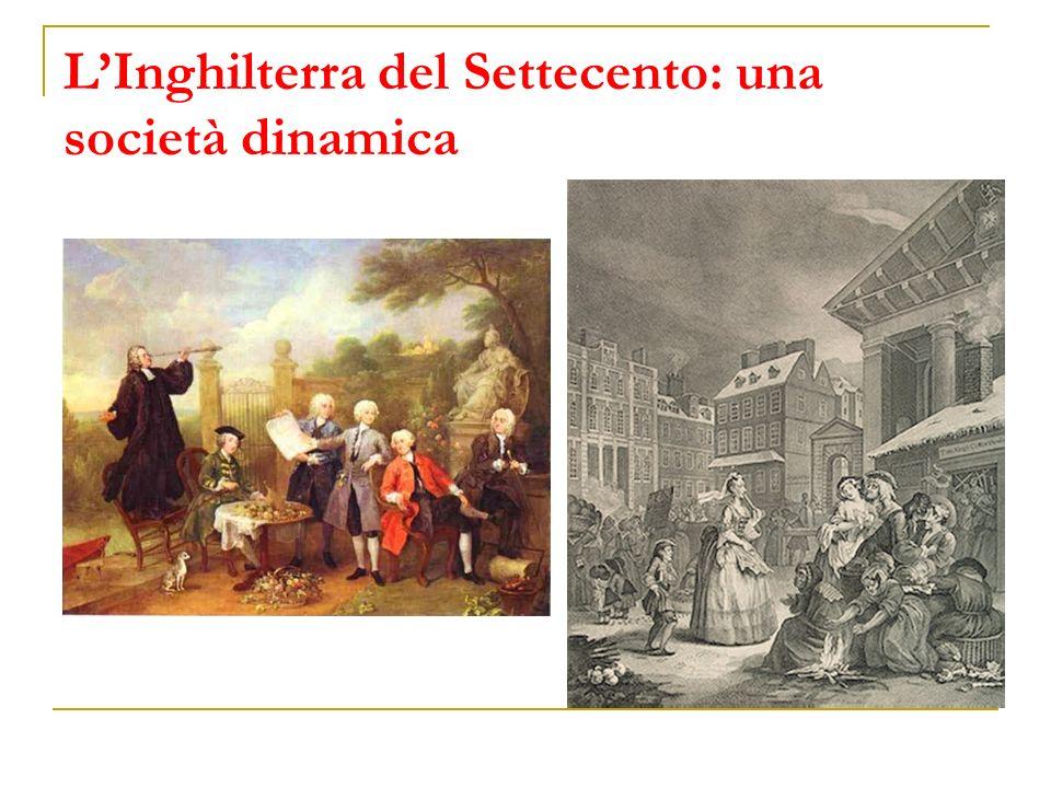 LInghilterra del Settecento: una società dinamica