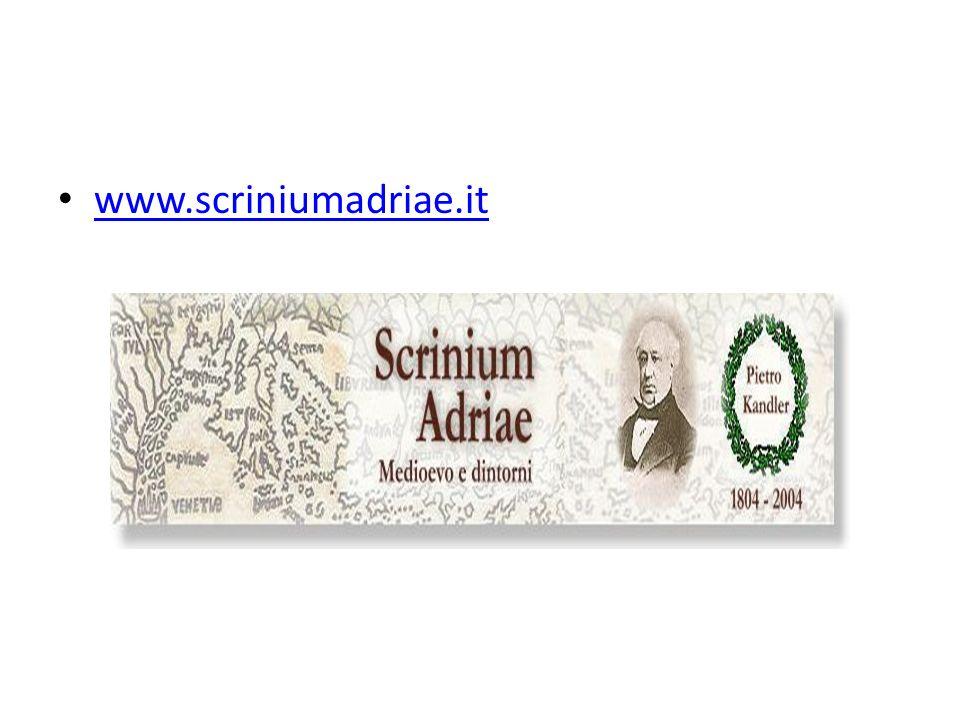 www.scriniumadriae.it