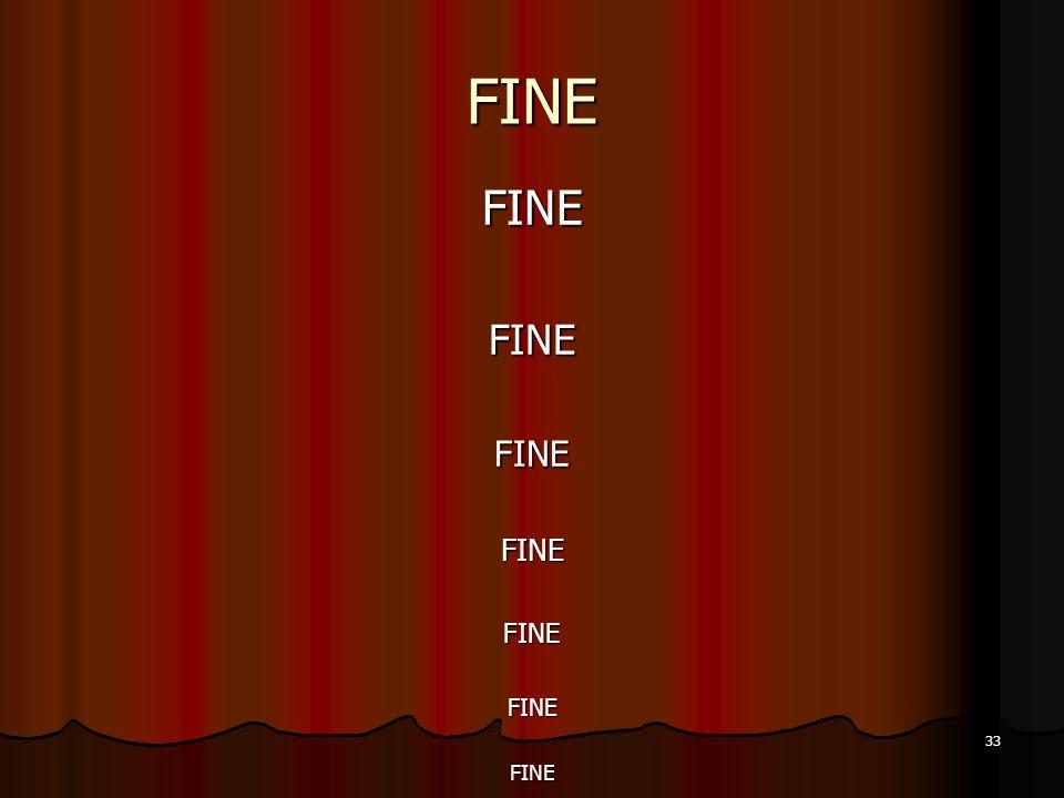 33 FINE FINEFINEFINEFINEFINEFINEFINE