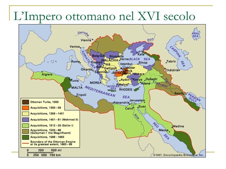 LImpero ottomano nel XVI secolo