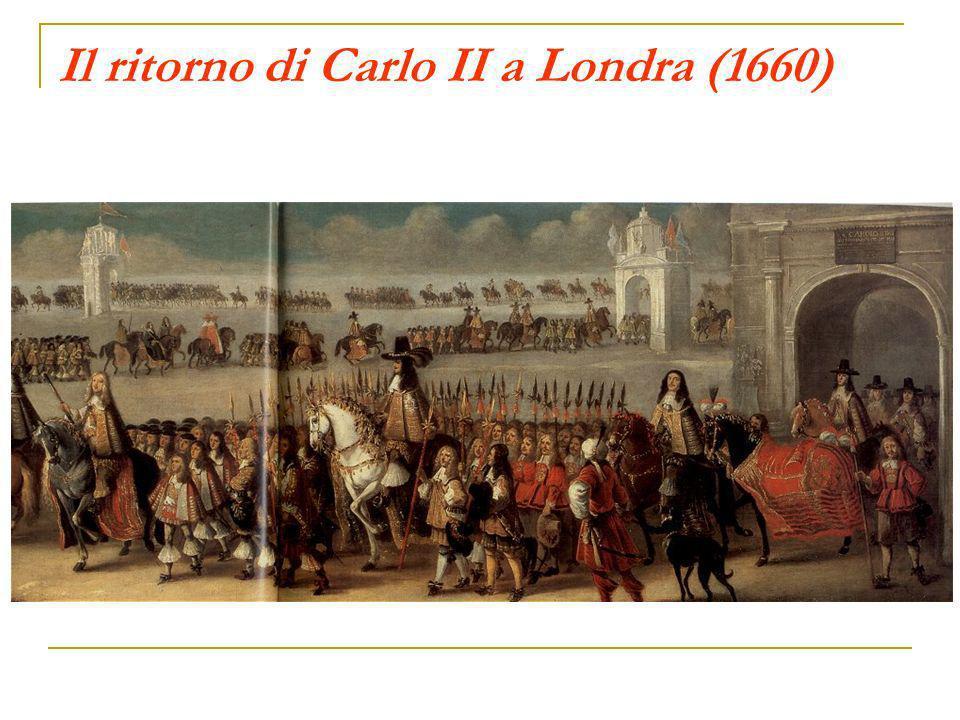 Il ritorno di Carlo II a Londra (1660)