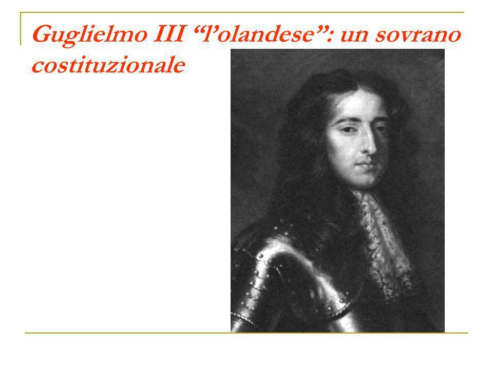 Guglielmo III lolandese: un sovrano costituzionale