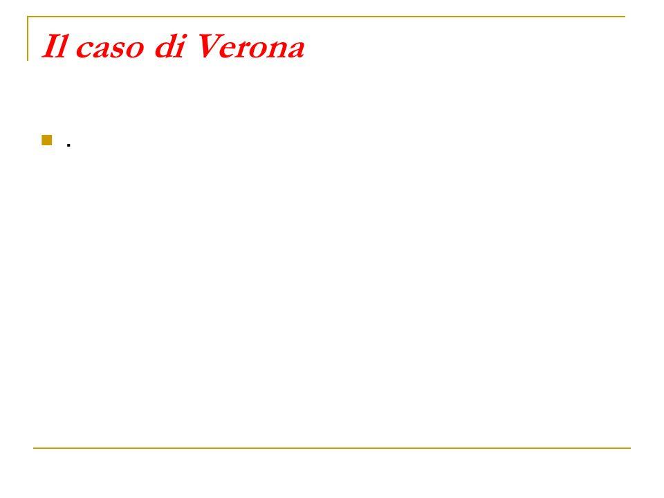 Il caso di Verona.