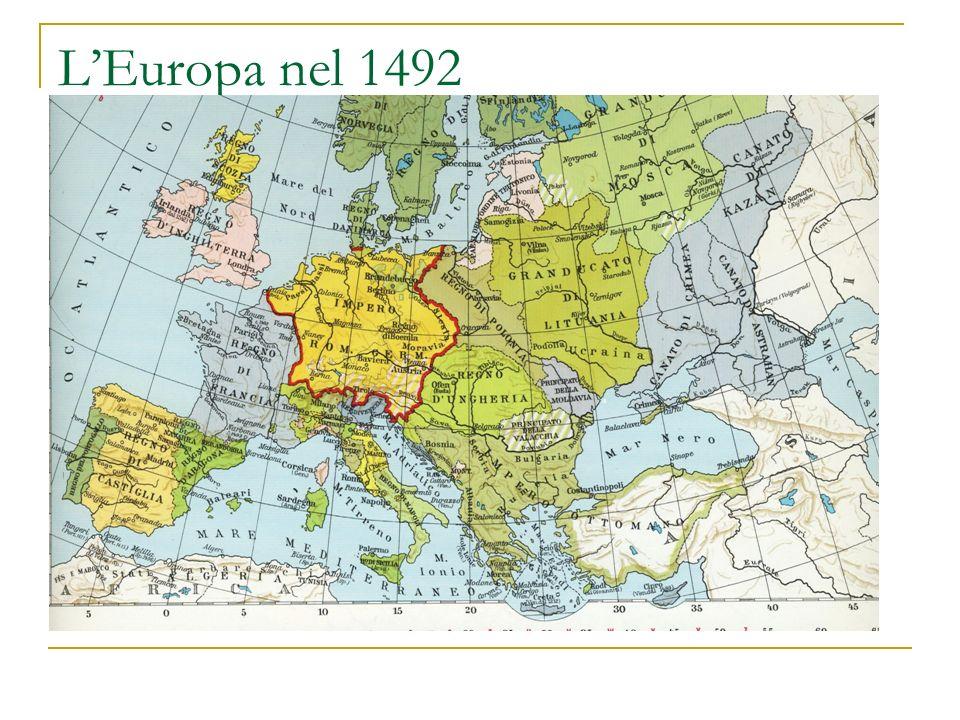 LEuropa nel 1492