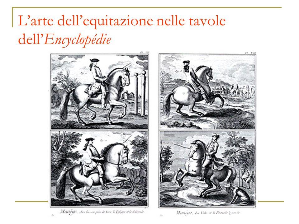 Larte dellequitazione nelle tavole dellEncyclopédie