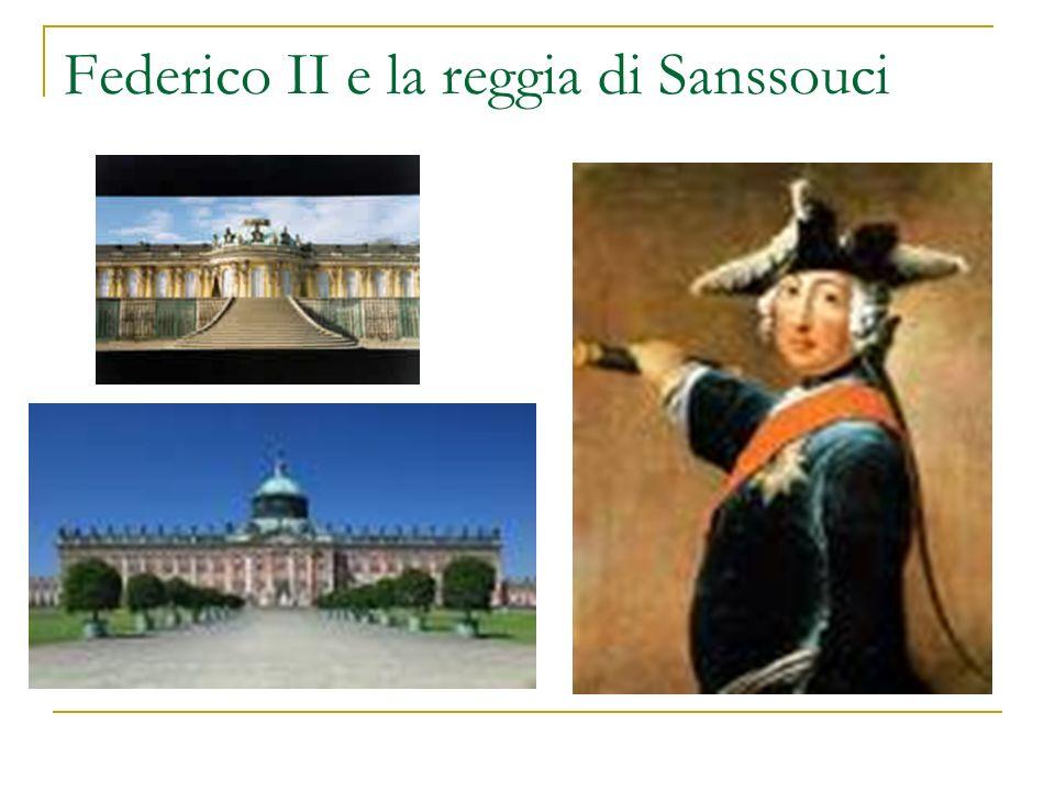 Federico II e la reggia di Sanssouci