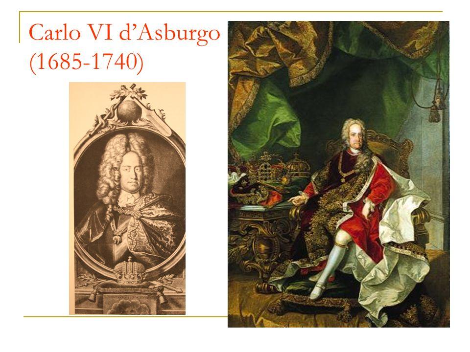 Carlo VI dAsburgo (1685-1740)