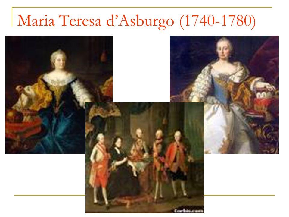 Maria Teresa dAsburgo (1740-1780)