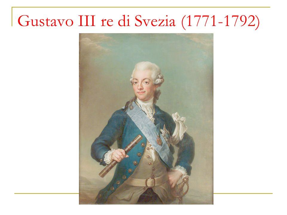 Gustavo III re di Svezia (1771-1792)