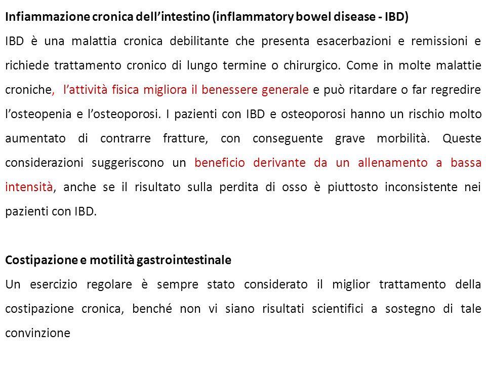 Infiammazione cronica dellintestino (inflammatory bowel disease - IBD) IBD è una malattia cronica debilitante che presenta esacerbazioni e remissioni