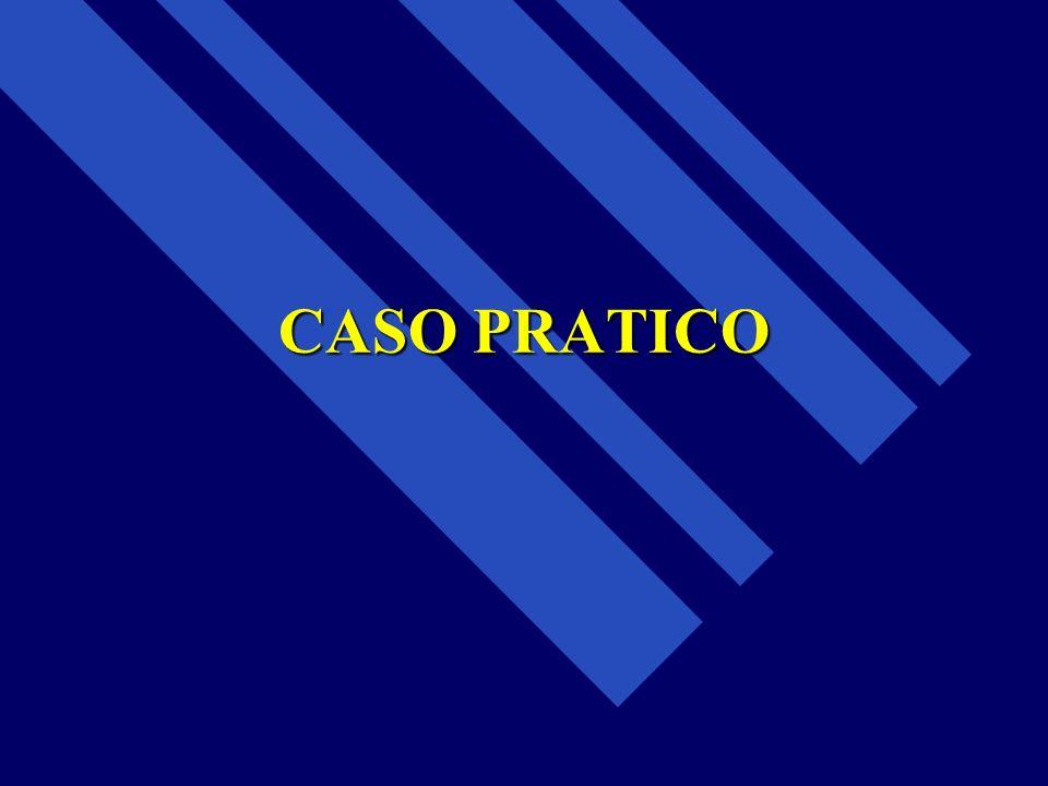 CASO PRATICO