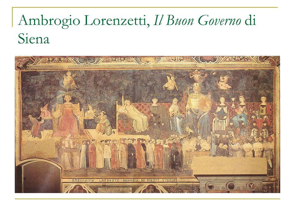 Ambrogio Lorenzetti, Il Buon Governo di Siena