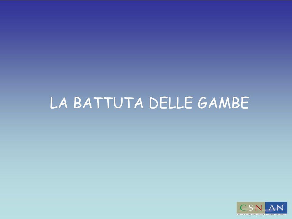 LA BATTUTA DELLE GAMBE