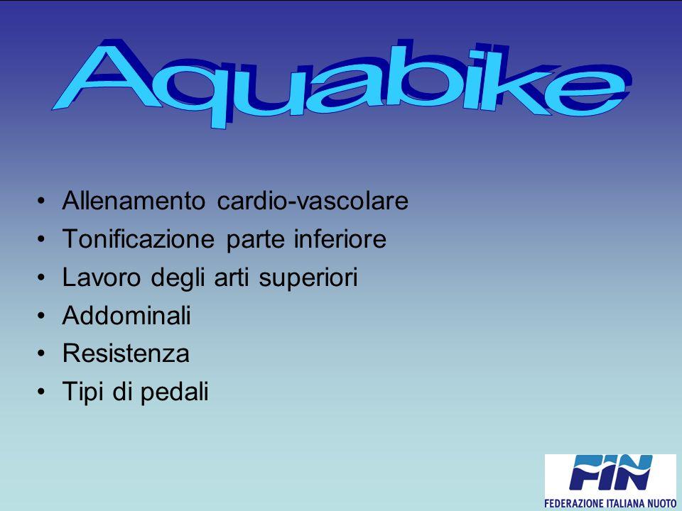 Allenamento cardio-vascolare Tonificazione parte inferiore Lavoro degli arti superiori Addominali Resistenza Tipi di pedali
