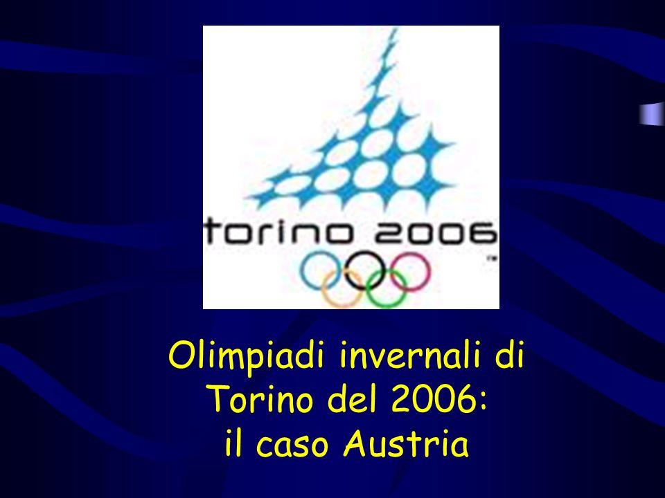 Olimpiadi invernali di Torino del 2006: il caso Austria