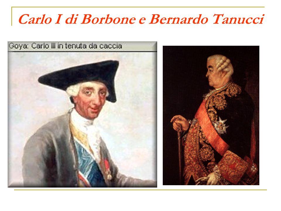 Carlo I di Borbone e Bernardo Tanucci
