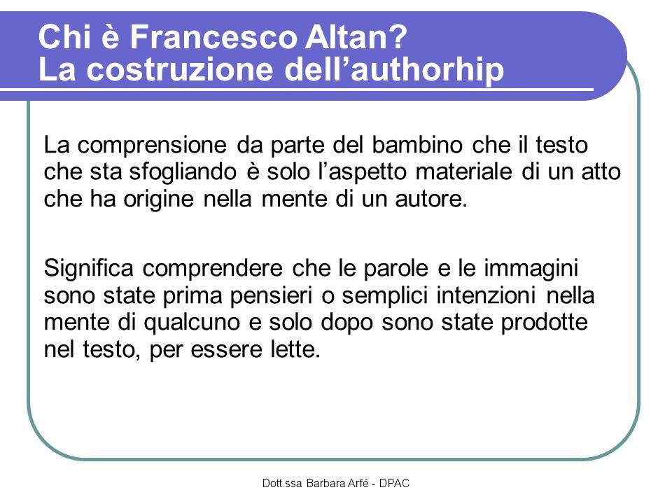 Chi è Francesco Altan.