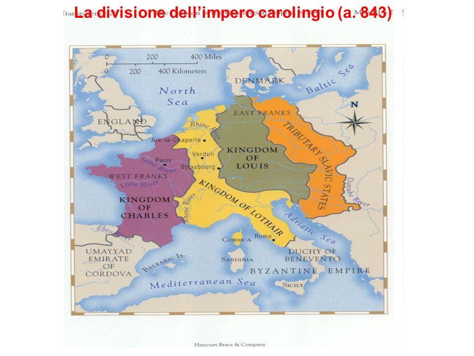 La divisione dellimpero carolingio (a. 843)