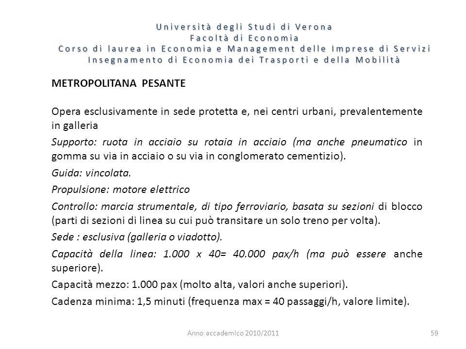 59 Università degli Studi di Verona Facoltà di Economia Corso di laurea in Economia e Management delle Imprese di Servizi Insegnamento di Economia dei