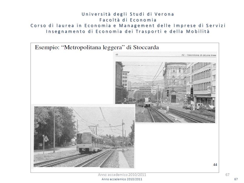 67 Università degli Studi di Verona Facoltà di Economia Corso di laurea in Economia e Management delle Imprese di Servizi Insegnamento di Economia dei