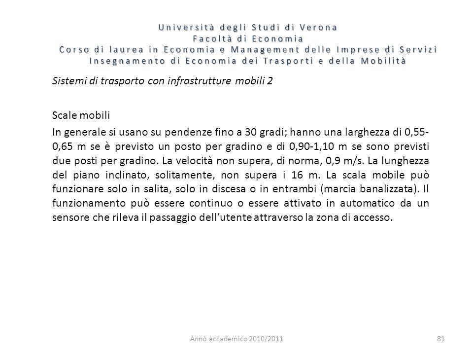 81 Università degli Studi di Verona Facoltà di Economia Corso di laurea in Economia e Management delle Imprese di Servizi Insegnamento di Economia dei