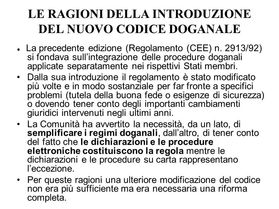 Articolo 68 Prescrizione dellobbligazione doganale Nessuna obbligazione doganale può essere notificata al debitore dopo la scadenza di un termine di tre anni dalla data in cui è sorta lobbligazione.