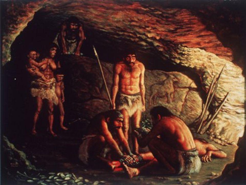 2.500.000 a.C. Primi utensili in pietra 500.000 a.C. Utilizzo del fuoco 400.000 a.C. Invenzione della lancia 20.000 a.C. Invenzione dellarco e della l