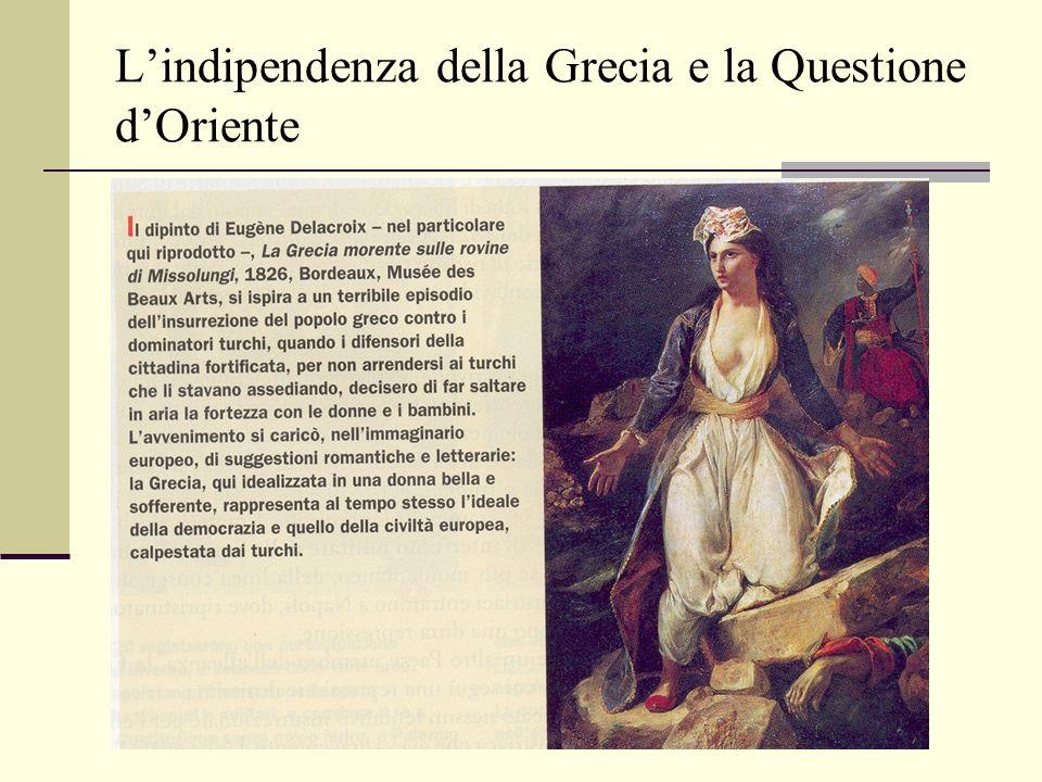 Lindipendenza della Grecia e la Questione dOriente