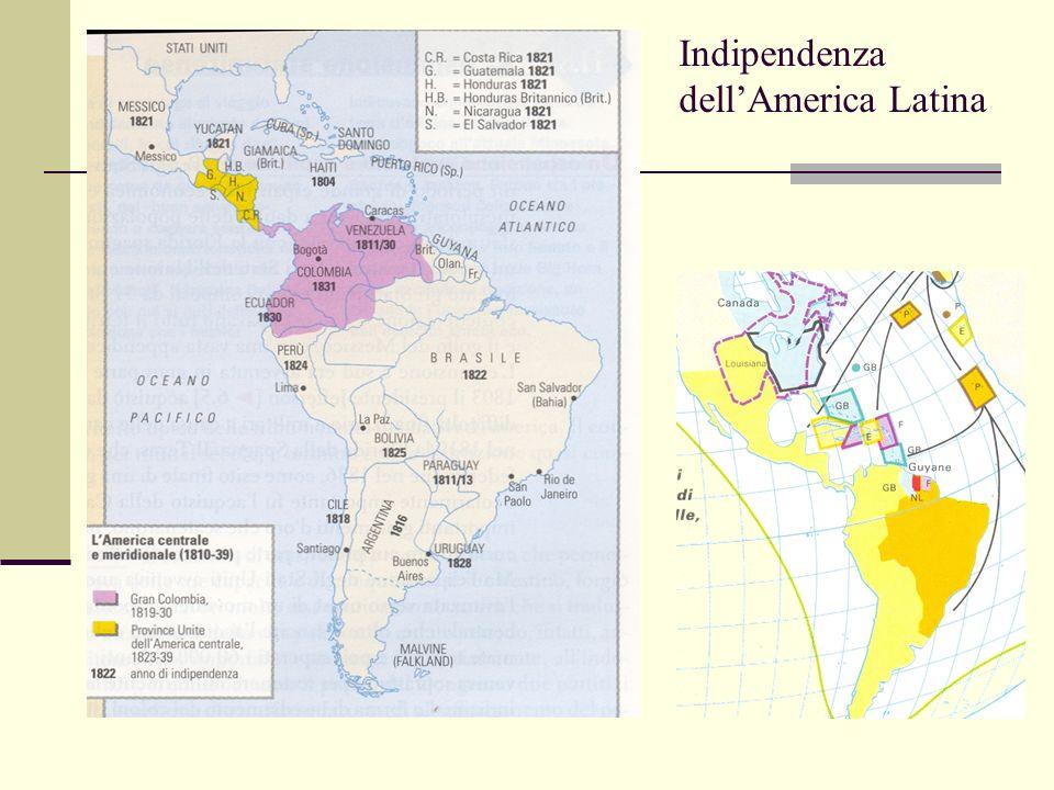 Indipendenza dellAmerica Latina