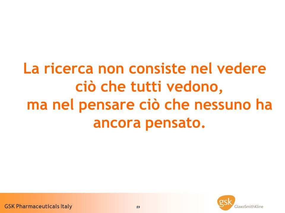 60 GSK Pharmaceuticals Italy Domande?