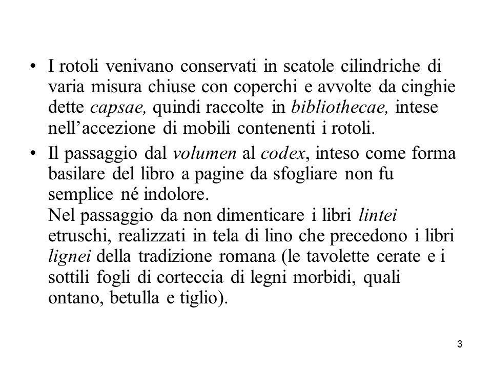 24 B.pubb. Nazionali: in Italia sono due (BNCF = B.
