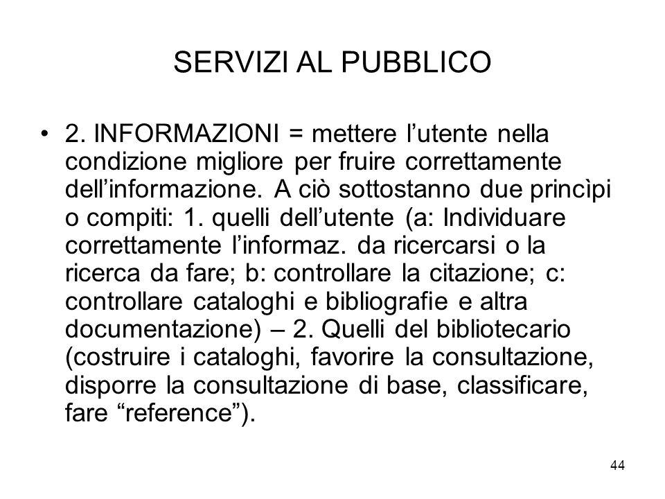 44 SERVIZI AL PUBBLICO 2.