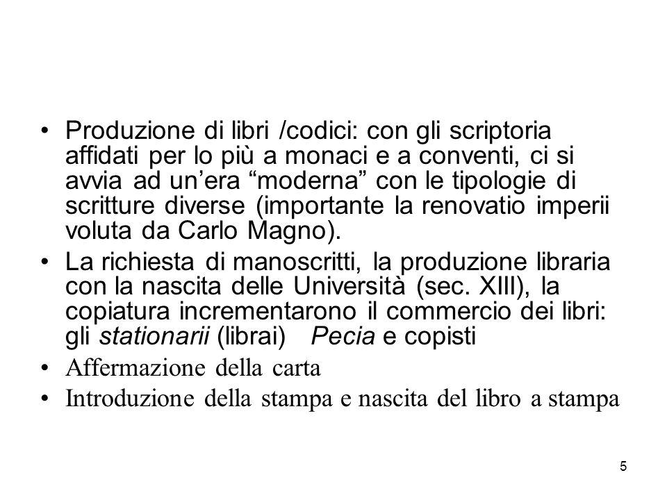 36 Non cartacei: risorse audiovisive (doc.