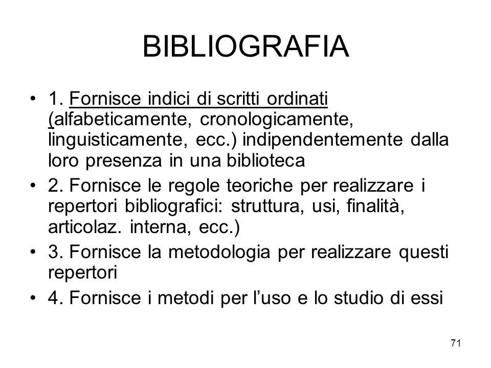 71 BIBLIOGRAFIA 1.