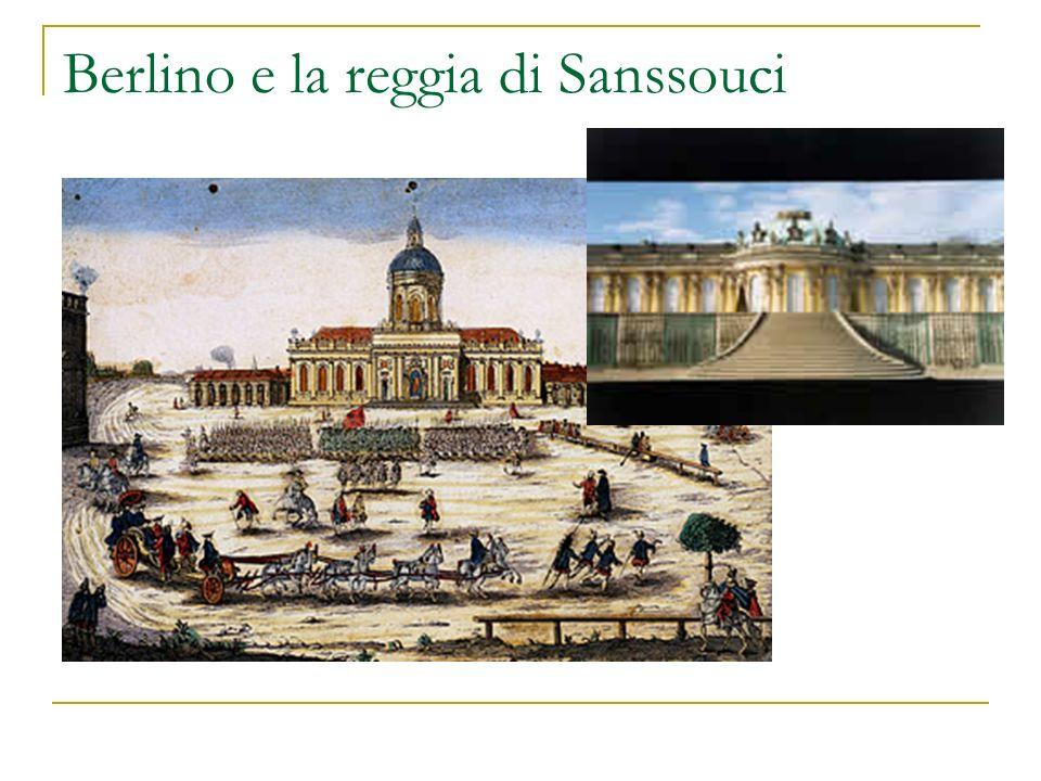 Berlino e la reggia di Sanssouci
