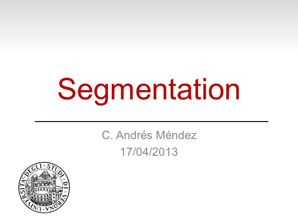If you are interested in segmentation (specially medical), take a look in http://www.itk.org/http://www.itk.org/ Also, interesting http://cmm.ensmp.fr/~beucher/wtshed.html