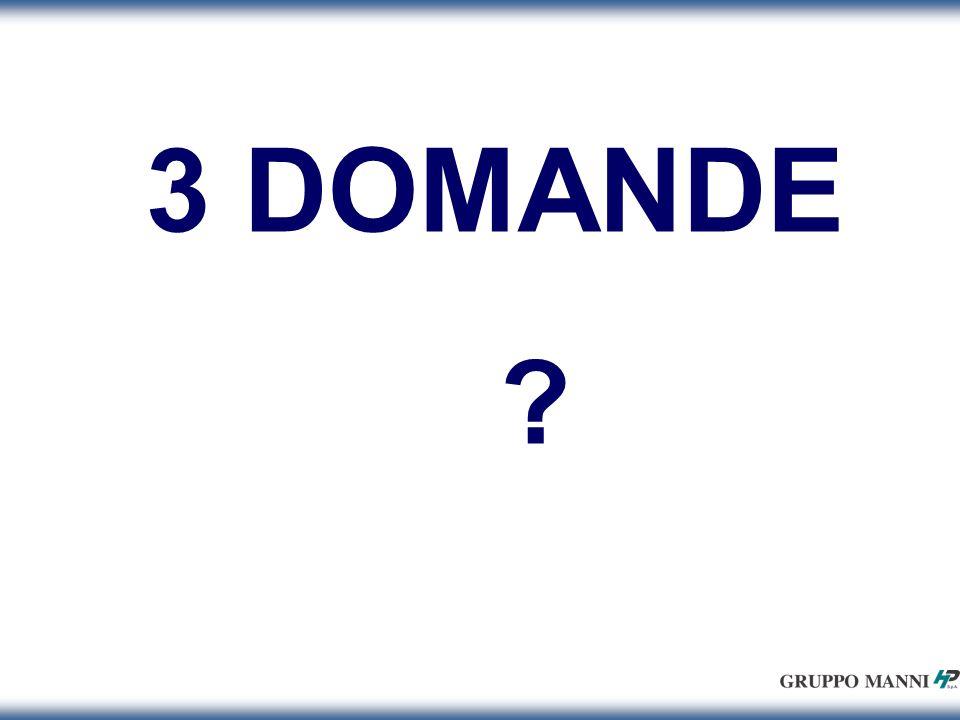 3 DOMANDE