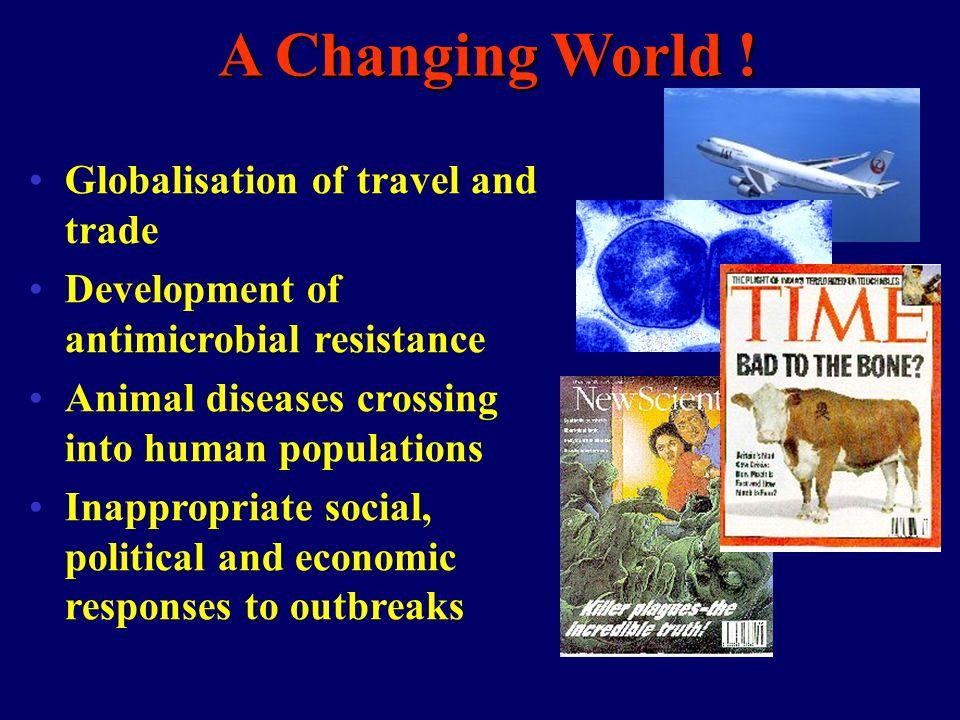 A Changing World .
