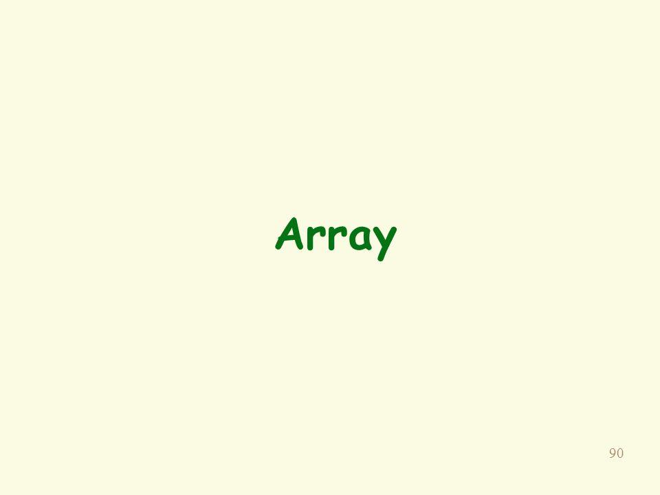 90 Array