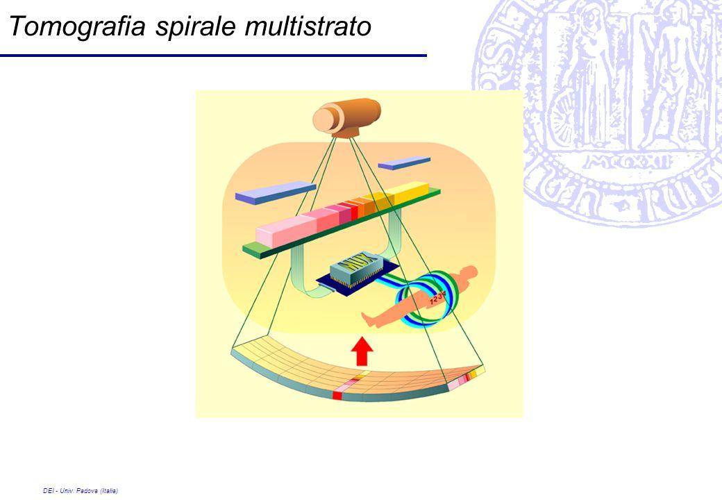 DEI - Univ. Padova (Italia) Tomografia spirale multistrato