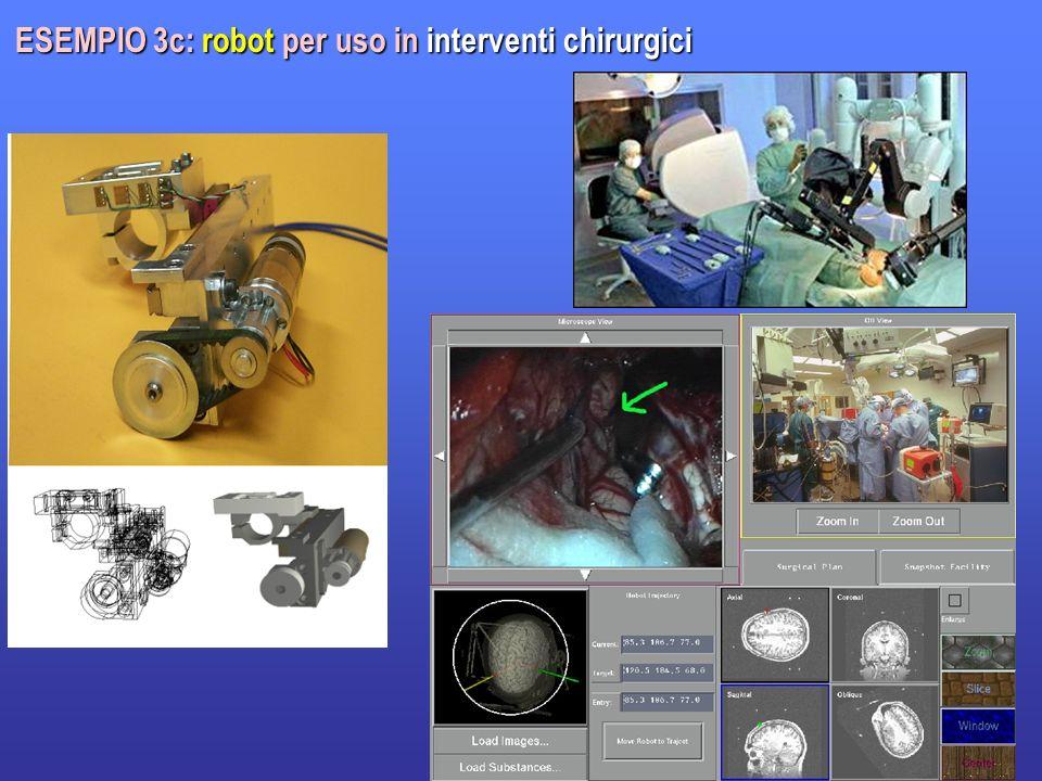 17 ESEMPIO 3c: robot per uso in interventi chirurgici