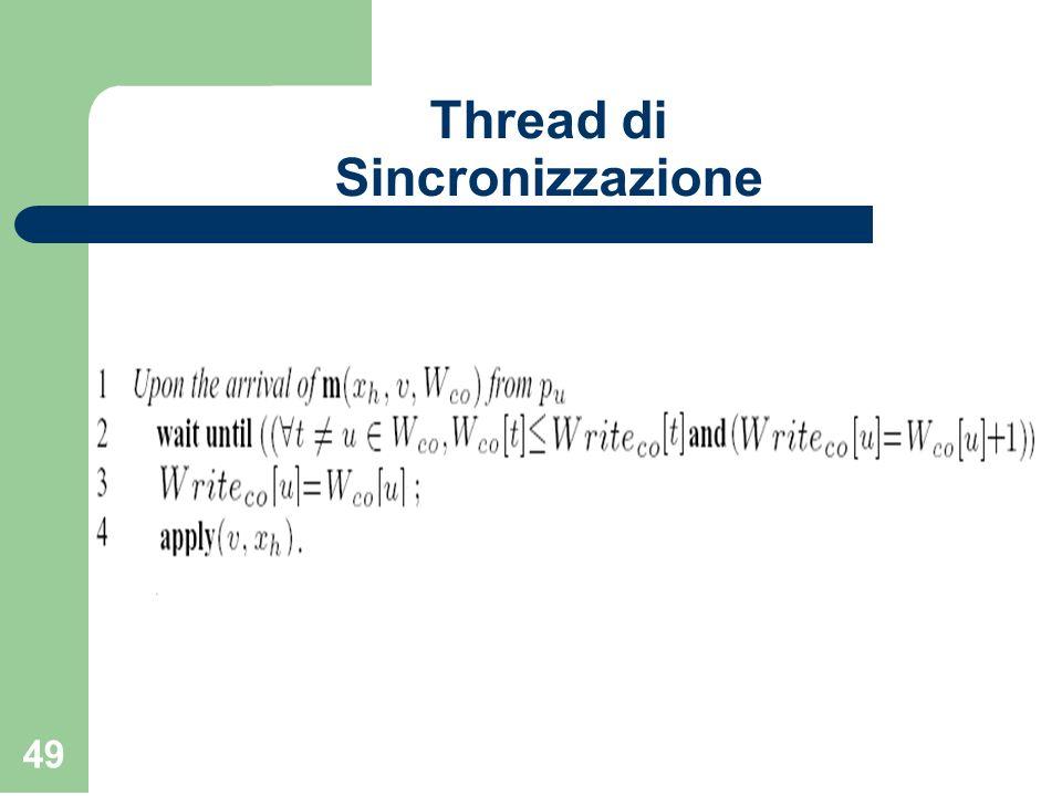 49 Thread di Sincronizzazione